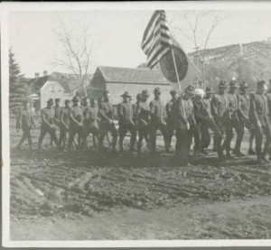 The Parade Honoring Veterans of the Great War